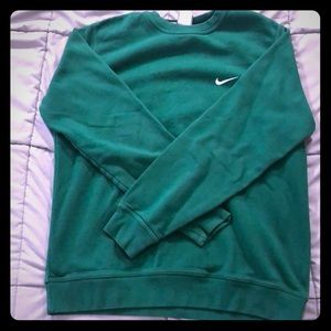 Green Nike sweater